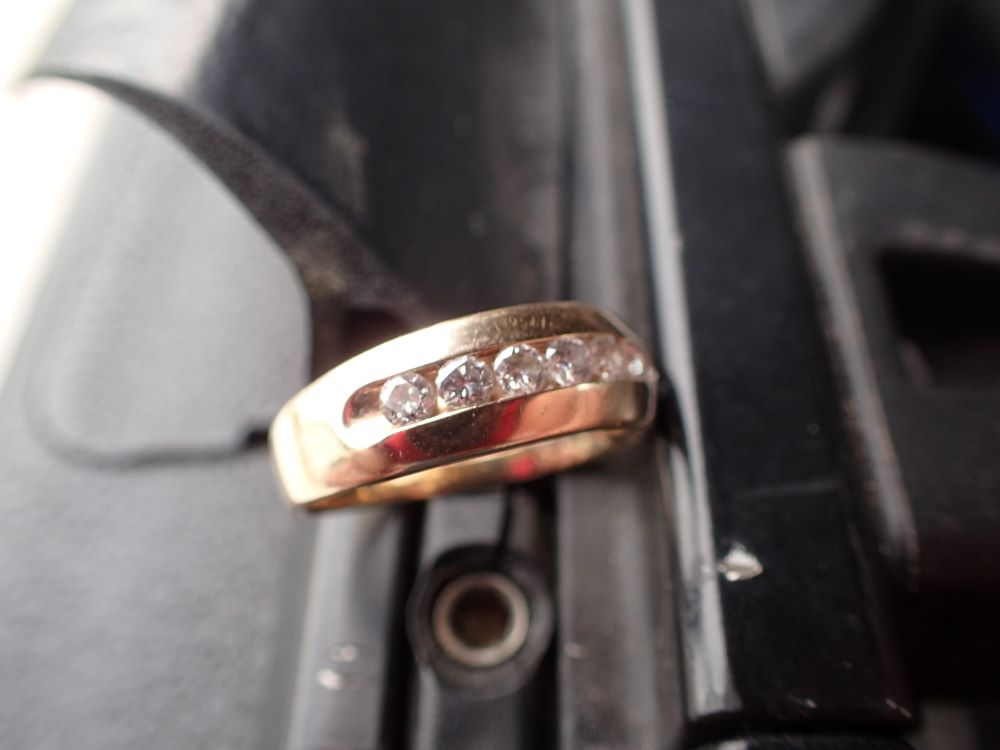 Lost Ring On Longboat Key Recovered by SRARC.