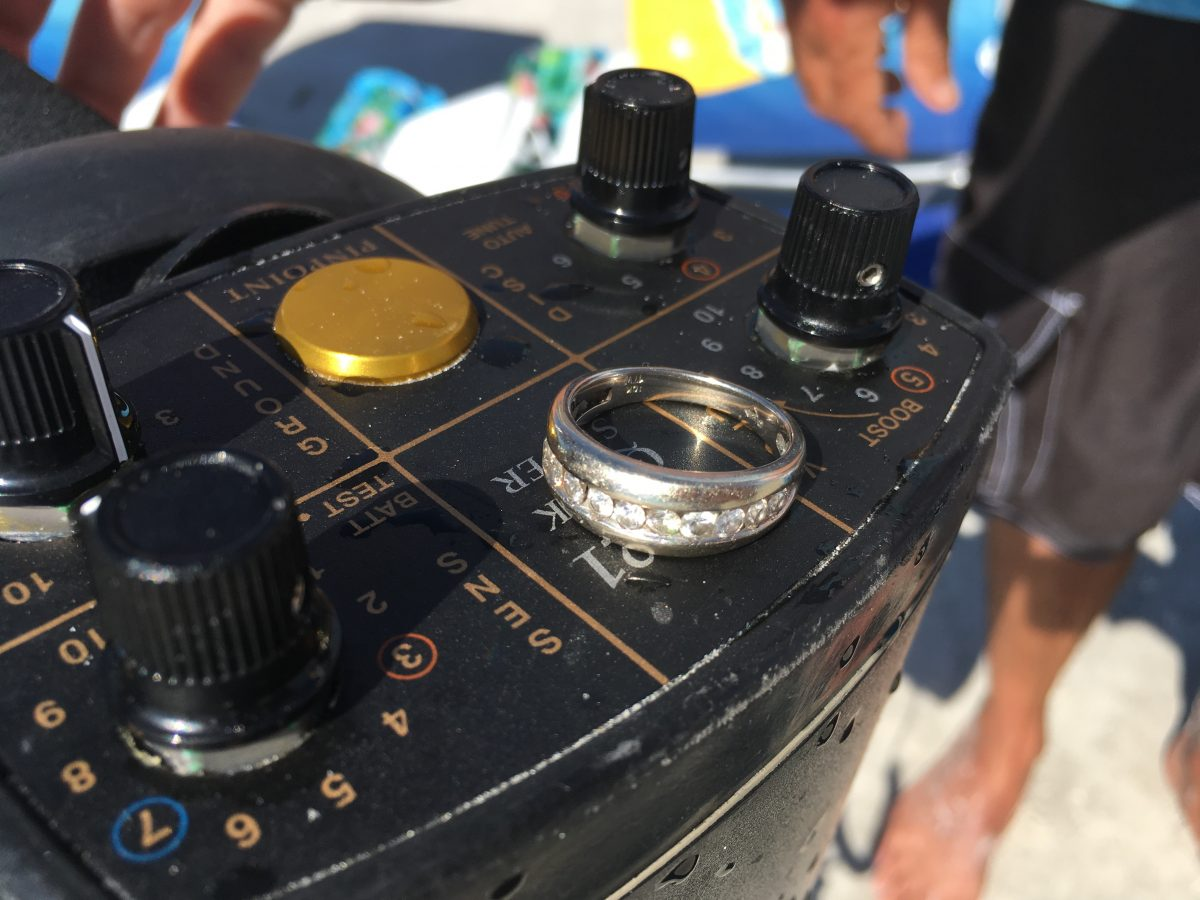 Lost Ring On Madeira Beach Recovered by SRARC