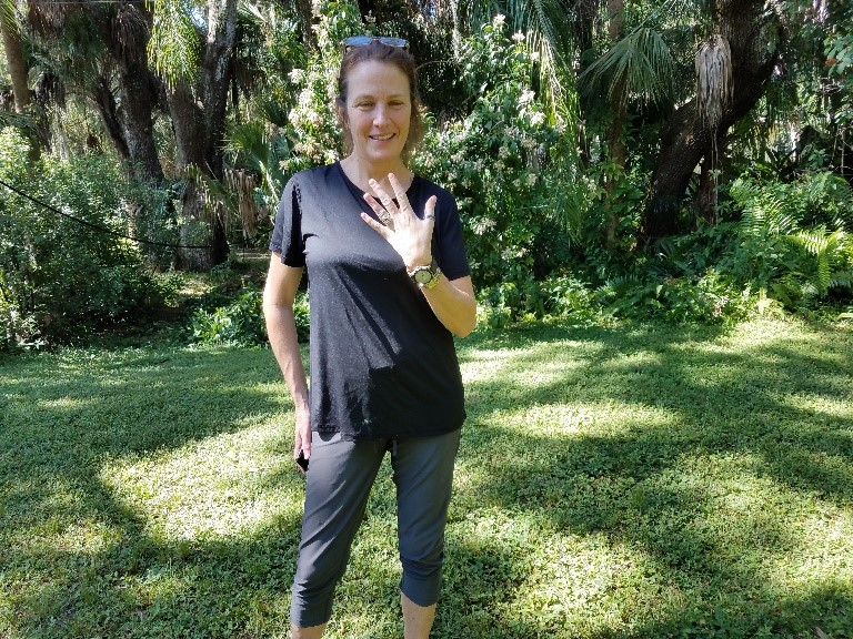 Ring Lost in Sarasota is Recovered by SRARC