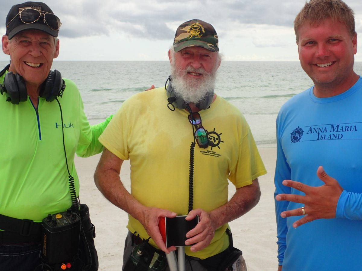Ring Lost on Anna Maria Island is Recovered by SRARC