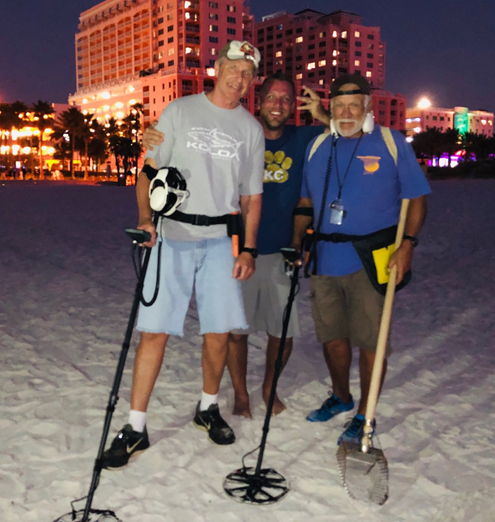 Ring Lost On Clearwater Beach Recovered By SRARC