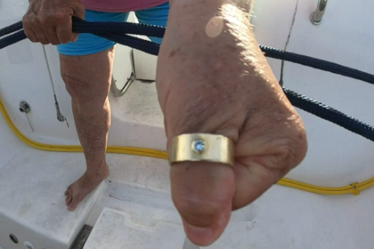 Ring Lost In Tarpon Springs, Recovered By SRARC