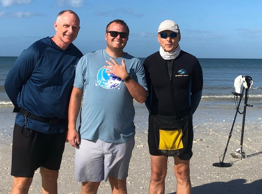 Ring Lost On Honeymoon Island, Recovered By SRARC