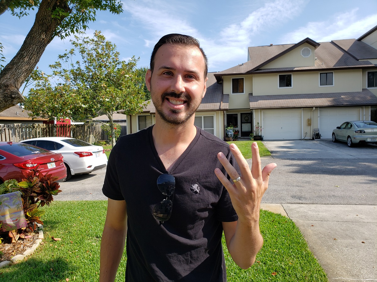 RING LOST ON DAVIS ISLAND, RECOVERED BY SRARC