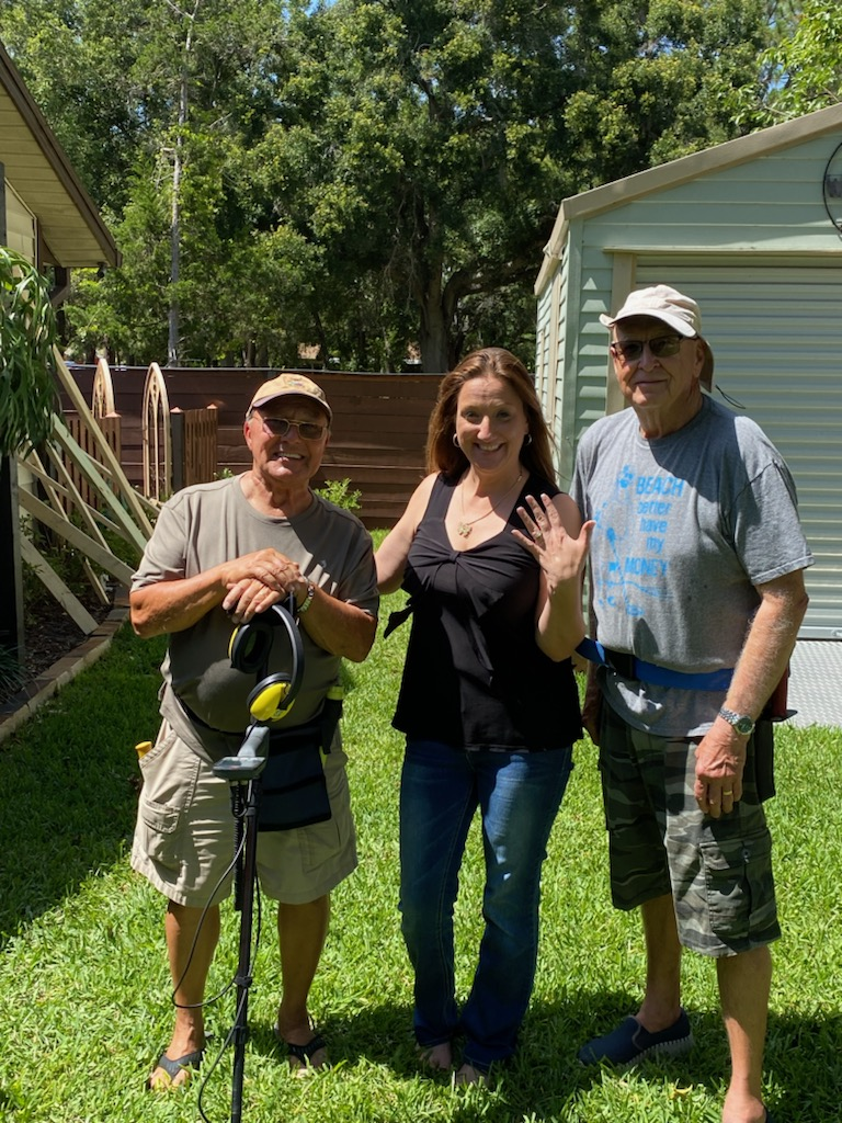 Ring Lost In The Pinellas County, Recovered By SRARC
