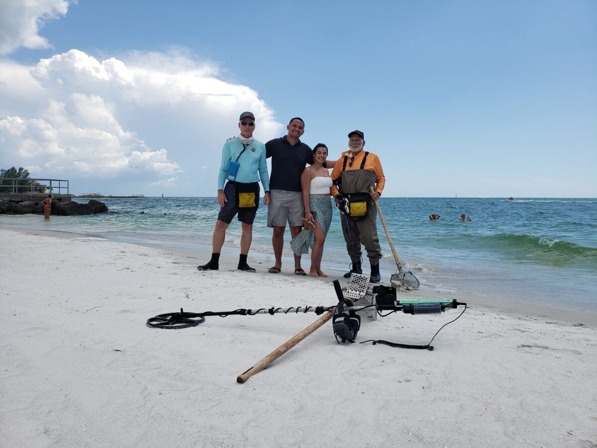 Ring Lost On Madeira Beach, Recovered By SRARC
