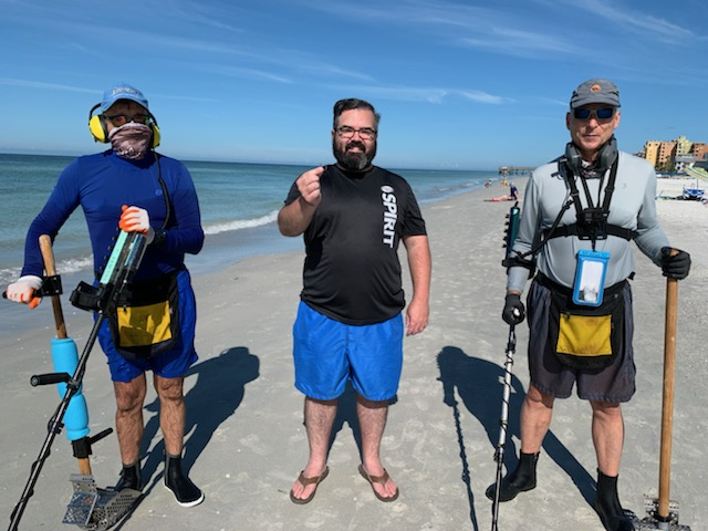Ring Lost On Redington Shores Beach, Recovered By SRARC