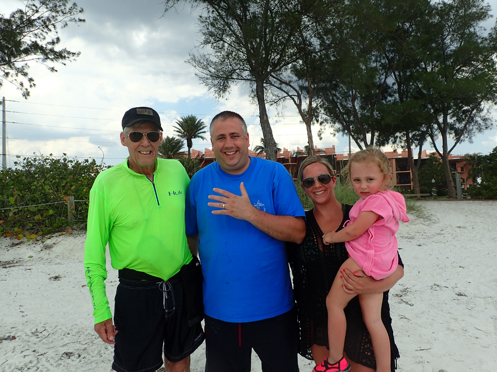 Ring Lost on Coquina Beach.  SRARC finds it in 1/2 hour.