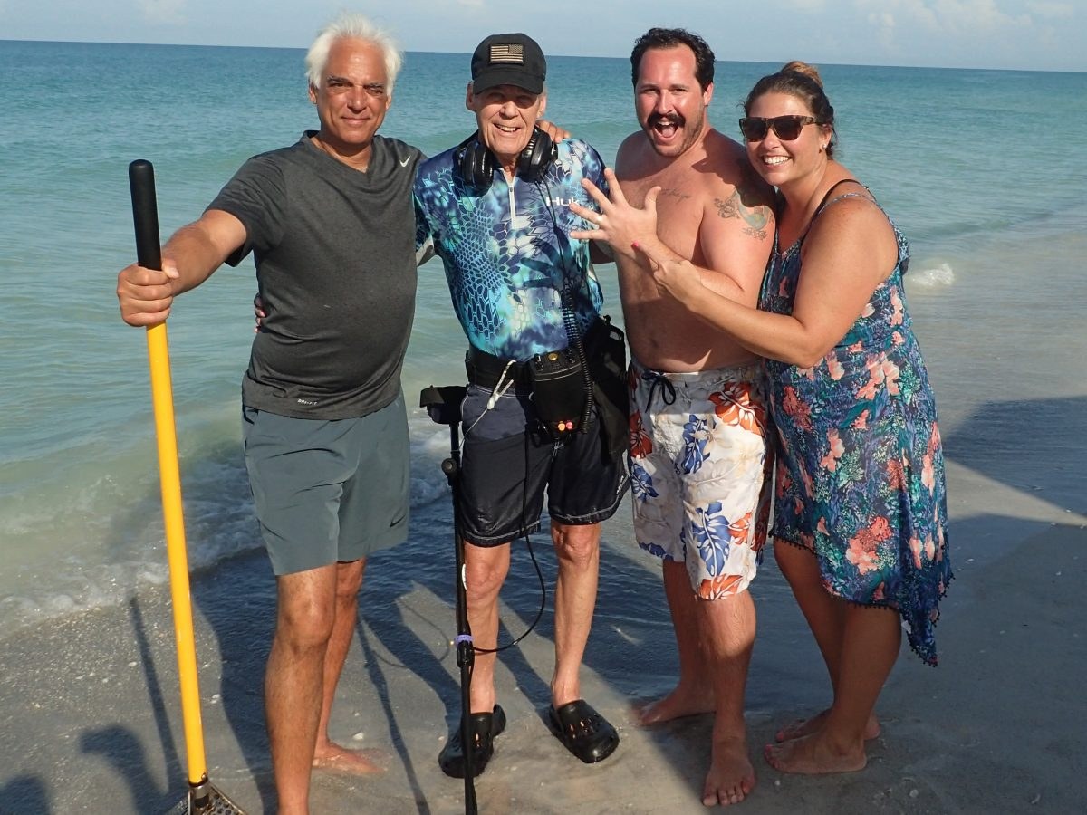 Lost Ring Longboat Key, Recovered By SRARC