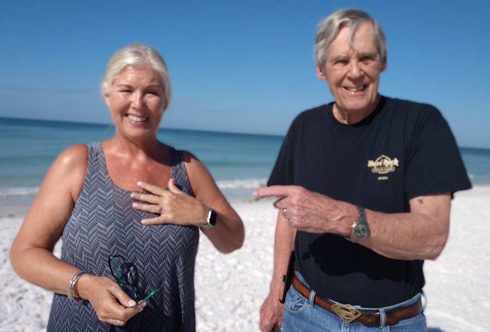 Ring Lost On Siesta Key Beach, Florida, Recovered By SRARC