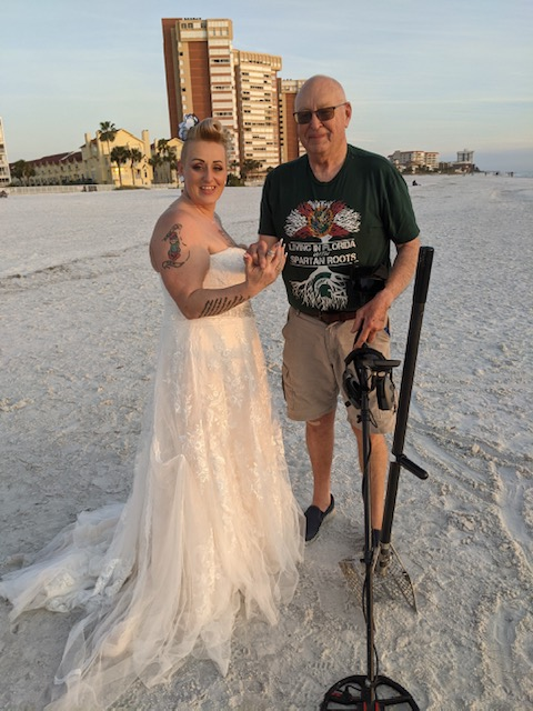Ring Lost At Redington Shores Beach , Recovered By SRARC