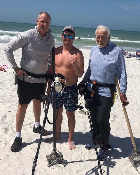 Ring Lost On Redington Beach, Recovered By SRARC