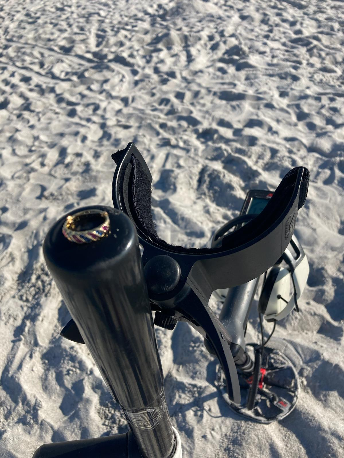 RING LOST IN ON FORT DESOTO BEACH, RECOVERED BY SRARC