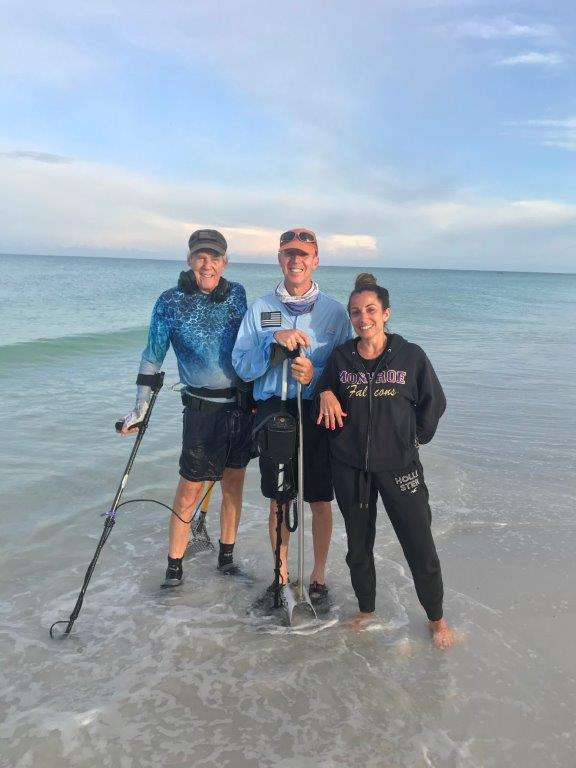 RING LOST ON SARASOTA BEACH, RECOVERED BY SRARC